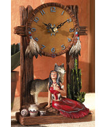 Indian Southwest Decorative Wolf Dream Catcher ... - $21.95