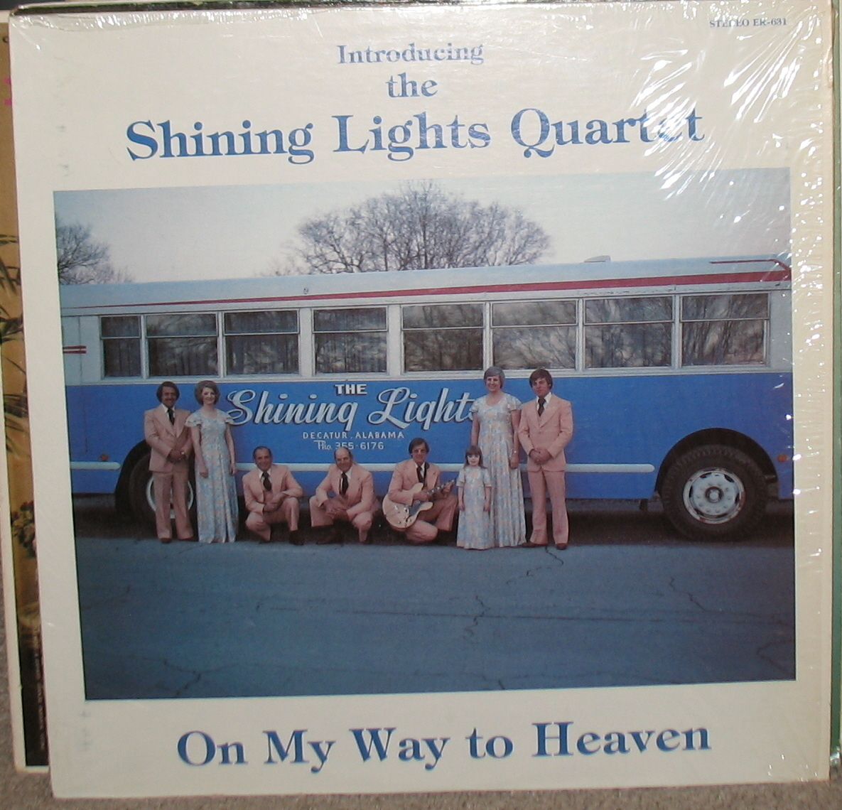 Introducing The Shining Lights Quartet LP- ER 631