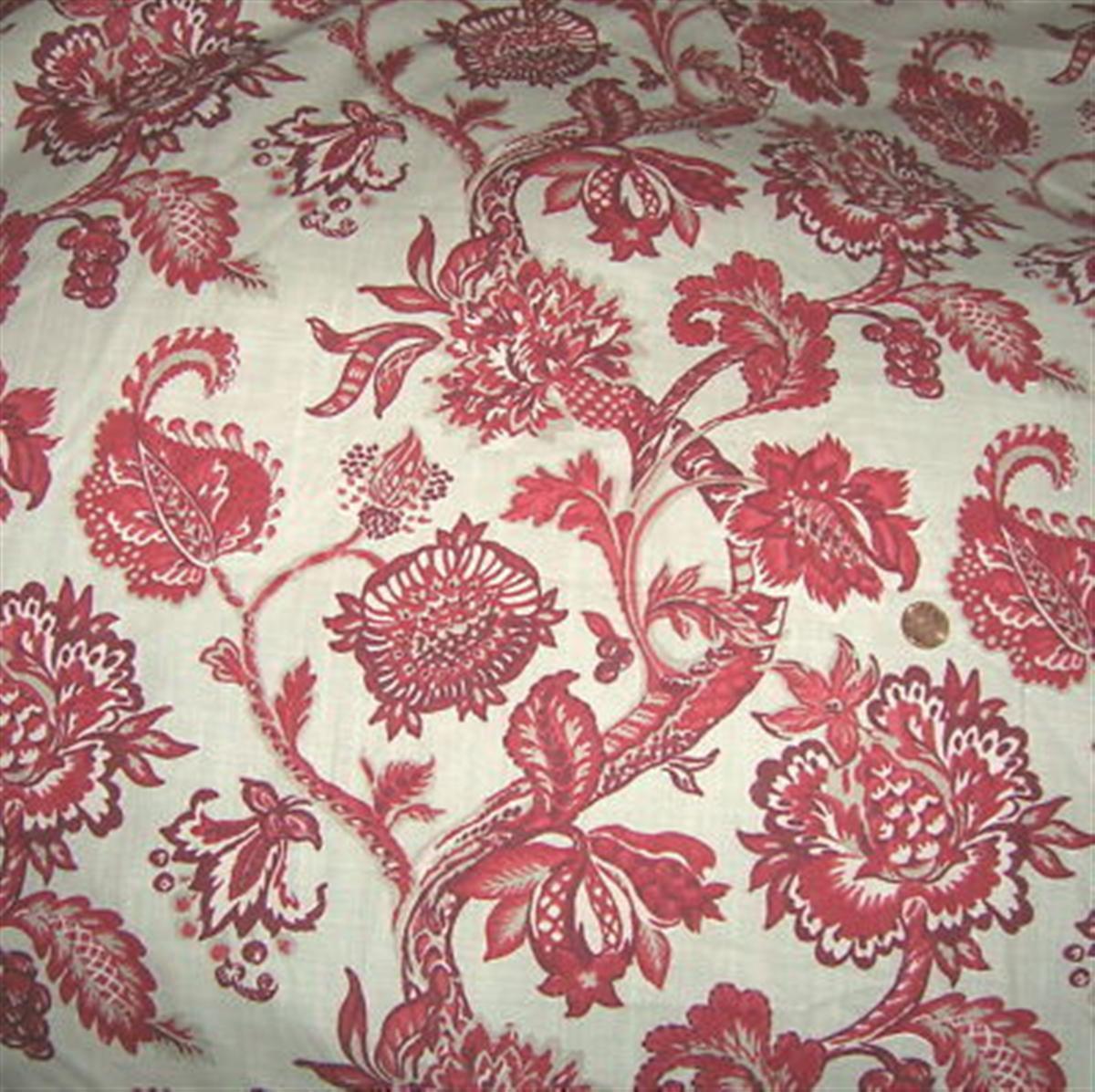 Robert allen home botanical fabric cotton floral fabric by for Robert allen fabric