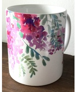 Ceramic coffee mug pink wisteria thumbtall