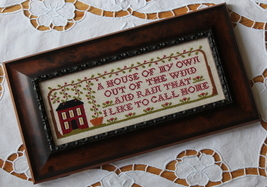 A House Of My Own cross stitch chart New York Dreamer - $7.20