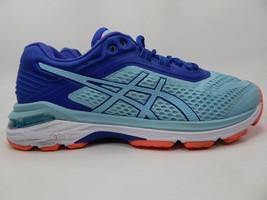Asics Gt 2000 6 Size US 8 M (B) EU 39.5 Women's Running Shoes Blue Teal T855N
