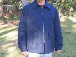 GALE SOBEL PLAID LINED JACKET COAT SZ 50 BIG MENS  - $15.00