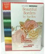 New Sealed Studio Bernina 527 BEAUTIFUL BORDERS Artista Embroidery Desig... - $54.40