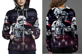Hoodie Zipper womens Star Tropers Star Wars - $46.70+