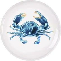 """Fitz & Floyd Cape Coral Collection Crab Accent Plate 8.5"""" - $24.97"""