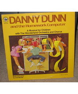 Danny Dunn and the Homework Computer LP - WLP 338 -1982 - $14.99