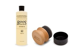 John Boos Cutting Board Care and Maintenance Set: Includes One 16 Ounce ... - $38.68