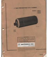 Manual Instructions Digrams Motorola CCTV High Performance Camera  - $9.99