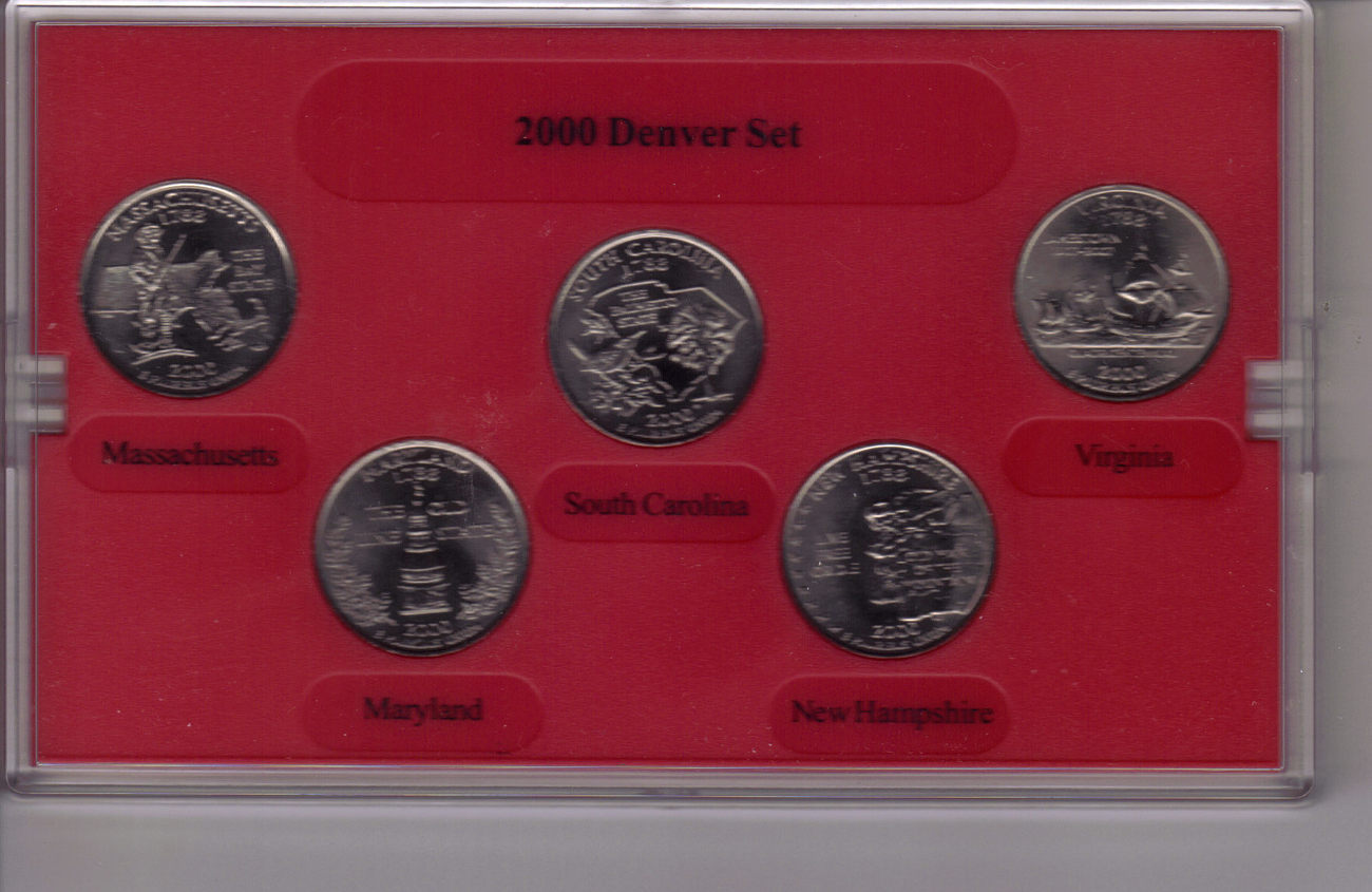 2000 DENVER  MINT EDITION STATE QUARTER COLLECTION