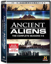 Ancient Aliens Complete Collection Season 1-6 DVD SET TV Series Show Box... - $98.99