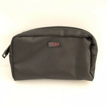 Unisex Adult Tumi Travel Accessories Zippered Pouch Black - $19.80