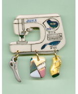 Ceramic Sewing Machine Pin Juki 200 Handcrafted - $14.95