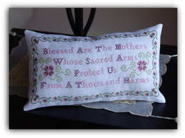 Blessed Are The Mothers cross stitch chart New York Dreamer - $7.20