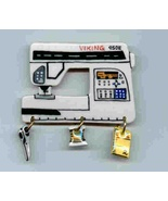 Ceramic Sewing Machine Pin Viking 950E Handcrafted - $14.95