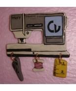 Ceramic Sewing Machine Pin  Pfaff CV Handcrafted - $14.95