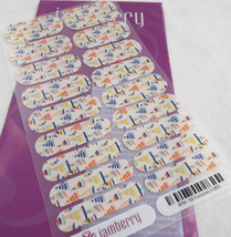 Jamberry Stylebox Exclusive 2-0815 8P19 Nail Wrap Full Sheet - $16.82