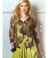 Vogue Sewing Pattern 8975 Misses Dress & Jacket Size XS-M March Tilton New - $21.99