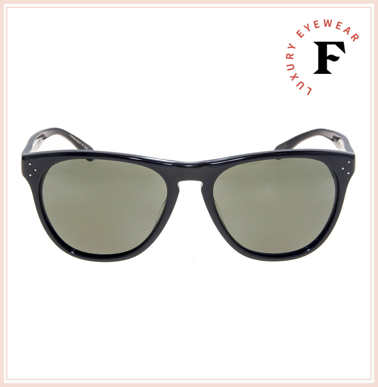 Oliver Peoples 5091 DADDY B Black Green Polarized Vintage Sunglasses OV5091S image 3
