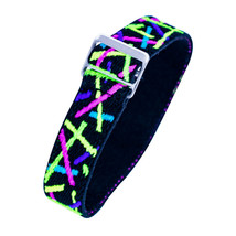 Timex Youth & Adults   Elastic Watch Strap 16mm   Multi-Color Neon Light... - $7.91