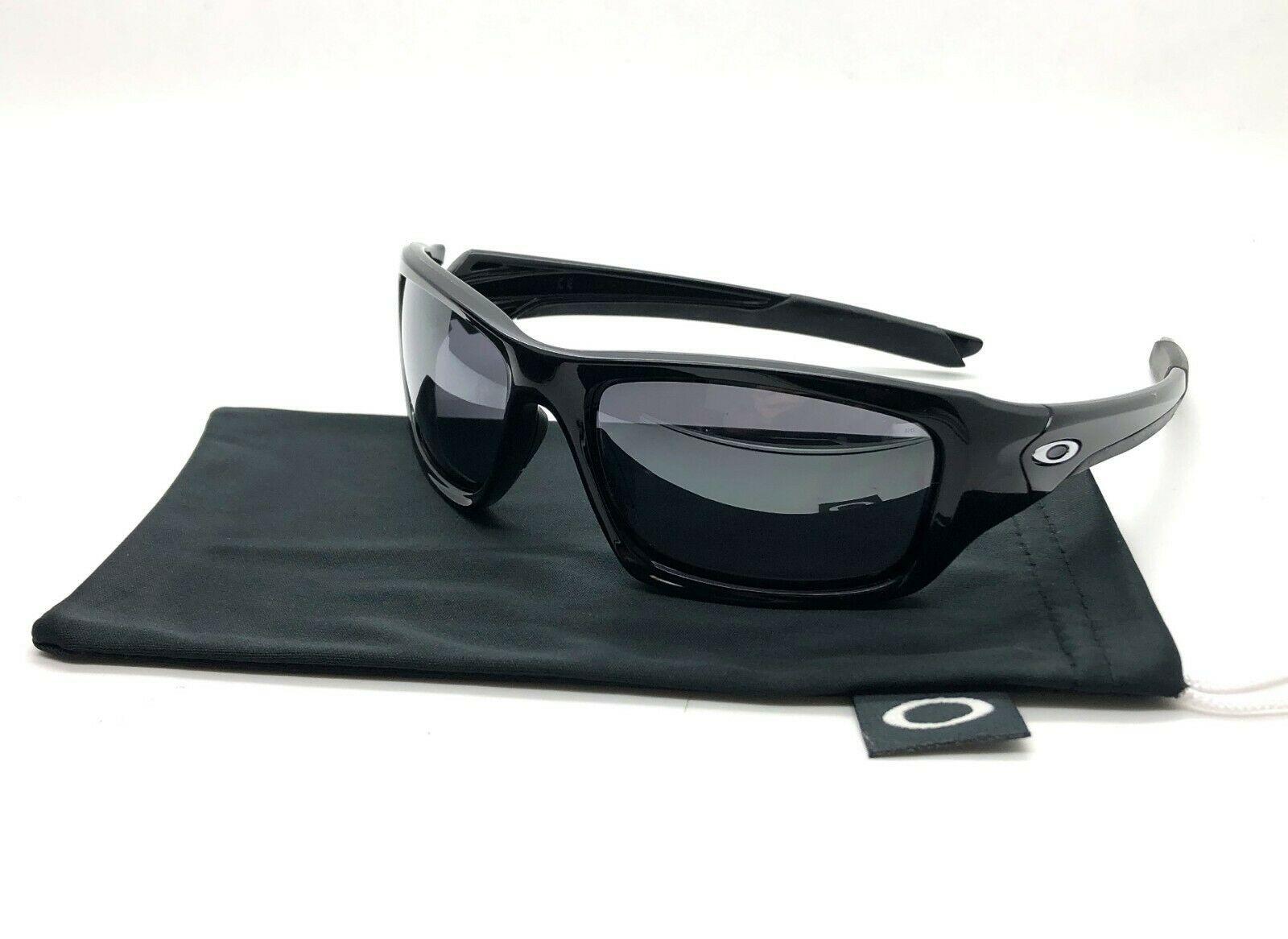 Oakley Ventil Sonnenbrille Oo9236-01 Poliert Schwarz Iridium Linse Neu Ovp