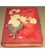 Outstanding Victorian Photograph Album - $188.00