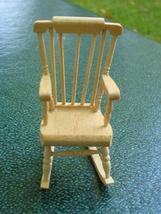 Miniature Boston Rocker Rocking Chair Dollhouse NIB - $15.00