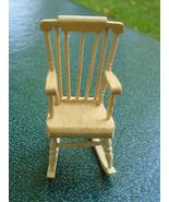 Miniature Boston Rocker Rocking Chair Dollhouse NIB - $15.00