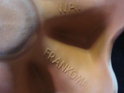 Frankoma Pottery Warmer Lazybones WAI