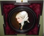 Art  framed porcelain lady 1 thumb155 crop