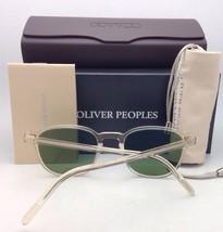 New Oliver Peoples Vintage Sunglasses MP-2 Sun Ov 1104-S 514552 Buff w/ Green - $454.95