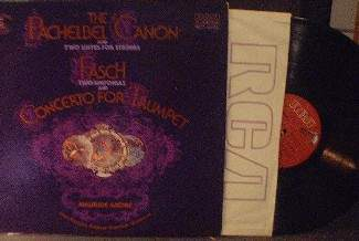 Maurice Andre - The Pachelbel Canon & Fasch - RCA FRL1-5468