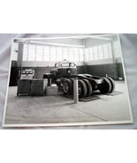 1950s Vintage Photo Truck Chassis Dynamometer Wichita - $9.95