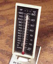 Daily Olympian Newspaper Advertising Thermometer from Olympia Washington, WA image 2