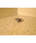 RING WOMENS LADIES GEMSTONE PINK SAPPHIRE SIZE ... - $9.99