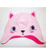 Gymboree Pink Squirrel Hat girl's 4T-5T fleece Fair Isle Flurry NEW - $10.00