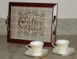 Coffee Break cross stitch chart New York Dreamer - $6.30