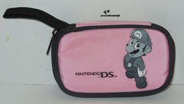 Nintendo DS Carrying Case Pink with picture of Mario On front - $9.50