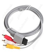 Game Console Audio Video AV Cable RCA Cord for Nintendo Wii - $15.90
