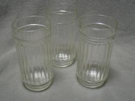 12 Stellar Clear Ribbed Anchor Glass 14 oz Tumblers NIB - $13.00