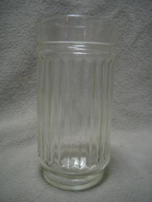 12 Stellar Clear Ribbed Anchor Glass 14 oz Tumblers NIB