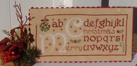Merry Christmas cross stitch chart New York Dreamer - $7.65