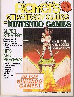Player's Strategy Guide to Nintendo Games Vol. 1, No. 2