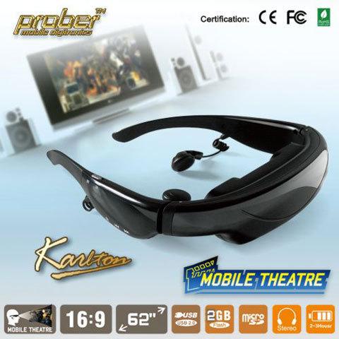 Monitor Eyewear Mobile Theatre 62 inch Wide Screen