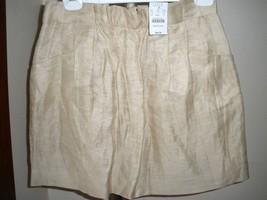 Nwt J. Crew LINEN/SILK Blend Skirt Sz 0 - $37.61