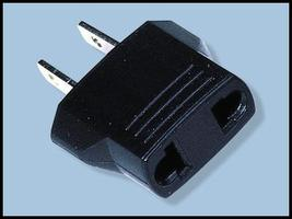 European to American Outlet Plug Adapter  - $1.75