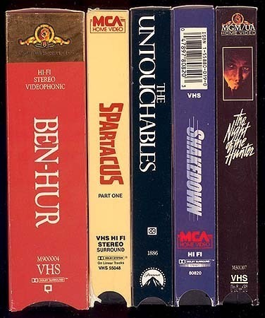 Fantastic LOT OF 5 CINEMATIC EPIC VHS MOVIES LIKE NEW