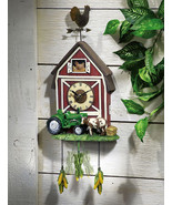 Country Kitchen Tractor  Farmhouse Clock - $21.99