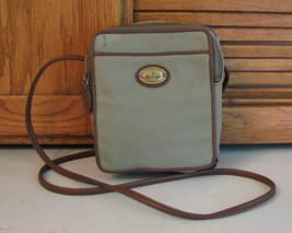 Etienne Aigner Purse Cross Body Organizer Shoulder Bag Canvas Handbag Free Ship - $13.85