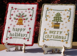 A Tree and A Bell for Christmas cross stitch chart New York Dreamer - $8.10